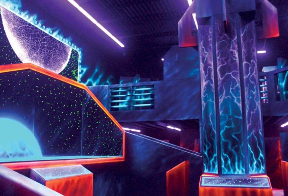 Galaxy Zone Laser Tag